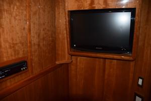 62' Neptunus Flybridge With Euro Transom 2008 TV in Fourth stateroom