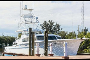 53' Rybovich Yacht Fish 1963 Starboard Bow View