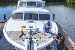53' Rybovich Yacht Fish 1963 Bow View