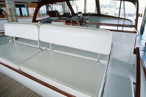 53' Rybovich Yacht Fish 1963 Bridge Helm