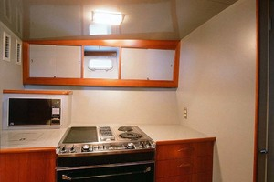 53' Rybovich Yacht Fish 1963 Galley