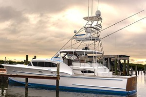 53' Rybovich Yacht Fish 1963 Port View