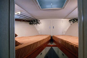 53' Rybovich Yacht Fish 1963 Forward Guest Twin Bunks