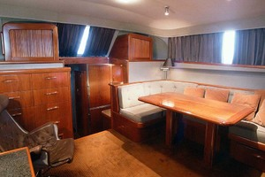 53' Rybovich Yacht Fish 1963 Salon