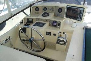 58' Tecnomarine Flybridge 1993 Flybridge Helm