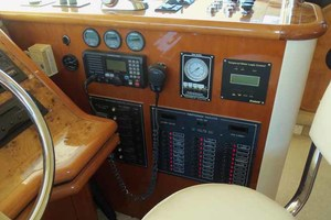 65' Neptunus Flybridge Motor Yacht 2004 Helm Panel