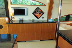 65' Neptunus Flybridge Motor Yacht 2004 Galley to Starboard