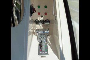 65' Neptunus Flybridge Motor Yacht 2004 Starboard Side Aft Deck Controls