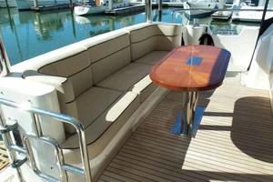 65' Neptunus Flybridge Motor Yacht 2004 Aft Deck