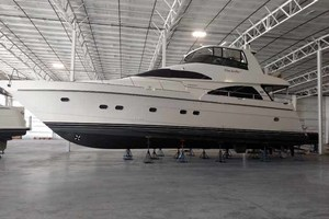 65' Neptunus Flybridge Motor Yacht 2004 Summer Storage