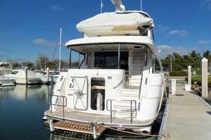 65' Neptunus Flybridge Motor Yacht 2004 Stern Shot