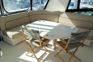 65' Neptunus Flybridge Motor Yacht 2004 Flybridge Seating