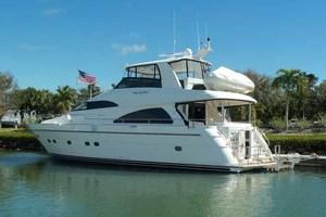 65' Neptunus Flybridge Motor Yacht 2004 Stern Quarter
