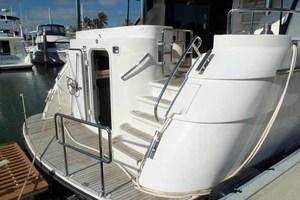 65' Neptunus Flybridge Motor Yacht 2004 Swim Platform