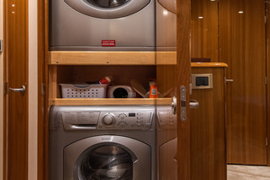 55' Viking 55 Convertible 2014 Companionway Washer and Dryer