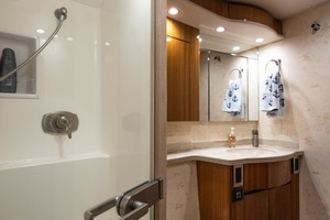 55' Viking 55 Convertible 2014 Guest Head and Shower
