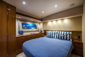 55' Viking 55 Convertible 2014 Master Stateroom