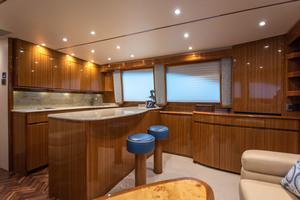 55' Viking 55 Convertible 2014 Galley