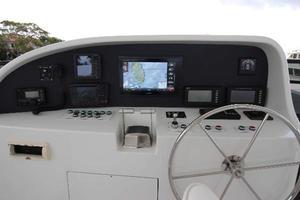103' Westport West Bay 2000 Flybridge Helm