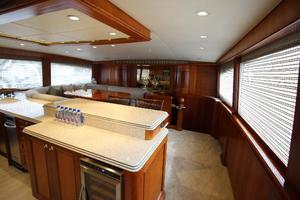 103' Westport West Bay 2000 Galley and Country Kitchen