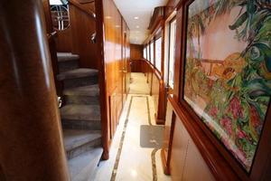 103' Westport West Bay 2000 Main Deck Companionway