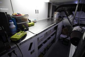 103' Westport West Bay 2000 Engine Room - Work Bench