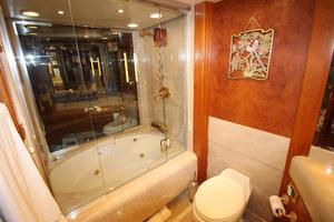 103' Westport West Bay 2000 Master Stateroom En Suite Bath