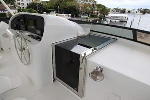 103' Westport West Bay 2000 Flybridge - Sliding Door to Pilothouse