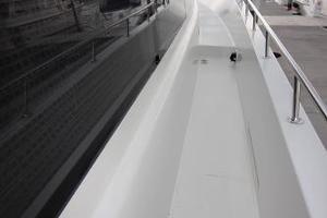 103' Westport West Bay 2000 Starboard Side Deck
