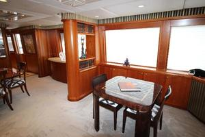 103' Westport West Bay 2000 Game Table - Salon Aft