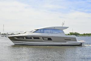 50' Prestige 500 S 2017 Port Side