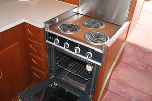 45' Viking 40 Sportfish 1978 Galley Stove Top and Oven