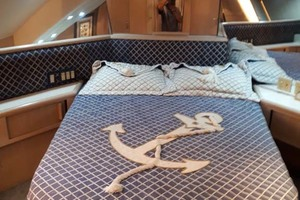 58' Hatteras Convertible 1992 Master Cabin