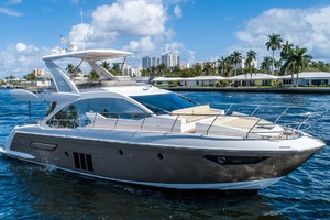 50' Azimut 50 Flybridge 2016 Starboard Profile