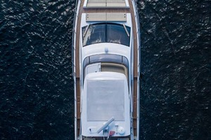 52' Azimut 50 Flybridge 2016 Aerial Shot