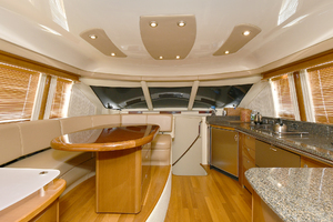 58' Sea Ray 58 Sedan Bridge 2007 Dinette/ Galley