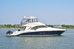 58' Sea Ray 58 Sedan Bridge 2007 Starboard Side