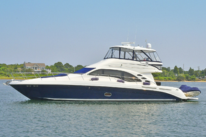58' Sea Ray 58 Sedan Bridge 2007 Port Side