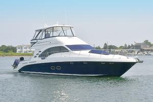 58' Sea Ray 58 Sedan Bridge 2007 Starboard Side Bow