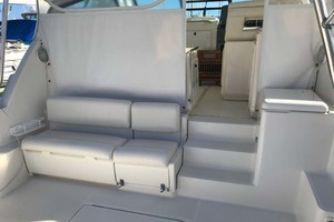 41' Tiara Open 1997 Lower Seating and Entry to Helm Area