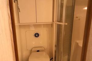 41' Tiara Open 1997 Head Toilet