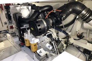 50' Henriques Flybridge 2017 Engine Room