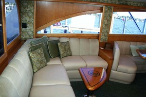 62' Titan 62 Custom Carolina Sportfish 2004 Salon Settee
