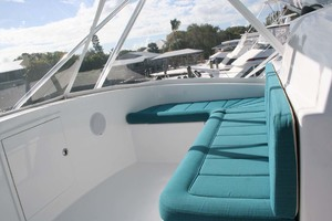 62' Titan 62 Custom Carolina Sportfish 2004 Forward Seat on Flybridge