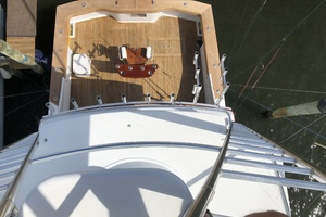 62' Titan 62 Custom Carolina Sportfish 2004 Aerial Cockpit View