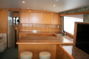 62' Titan 62 Custom Carolina Sportfish 2004 Galley
