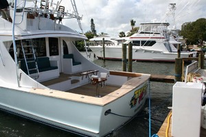 62' Titan 62 Custom Carolina Sportfish 2004 Port Aft View