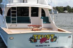 62' Titan 62 Custom Carolina Sportfish 2004 Transom