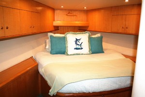 62' Titan 62 Custom Carolina Sportfish 2004 VIP Berth