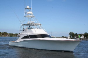62' Titan 62 Custom Carolina Sportfish 2004 Starboard Bow View